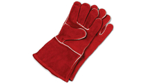 Red Leather Fire Retardant Gloves