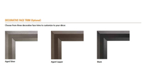 Decorative Trim Options