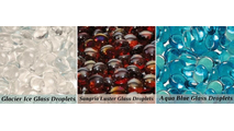 Glass Droplet options - additional upcharge - 1 bag of color choice