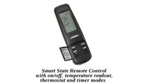 Get control of your fireplace in the palm of your hands when you upgrade to the Smart Stat remote for the Twilight II gas fireplace