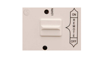 Snap on wall cover plate close up