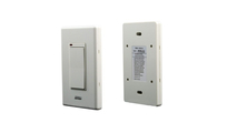 Wall mounted switch - front and back
