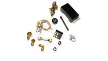 Side Gas Inlet 72PKNQM Gas Fireplace Safety Pilot Kit for natural gas