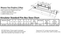 Sizing Chart For Airculator HW14501