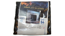 Packaging of the Fireplace Blocker