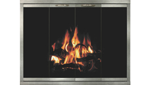 Shiloh Fireplace Door in Champagne