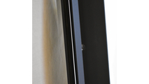 1/4 inch air gap between frame and fixed glass panel