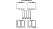 Revelation masonry fireplace door types