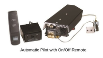 Automatic pilot (APK-12) can be controlled by manual knob, wall switch, or on/off remote.