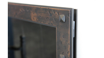 Hidden main frame and hidden bullet hinges