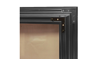 Brookside masonry fireplace door Double Bracket