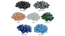 Choose from seven beautiful colors of Diamond Nuggets