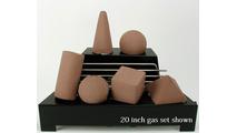 20 inch wide Alterna FireShapes Ventless Gas Set from Rasmussen Gas Logs