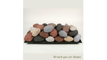 30 inch Alterna FireStones Calico Mix