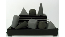 Dark Grey and Black Alterna FireShapes color combination