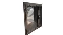 Old World Masonry Fireplace Door profile
