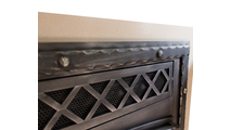 Close up of louver design on Denali ZC Refacing - shown in Burnished Bronze