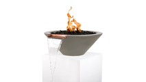 """24"""" Cadiz Fire and Water Bowl in Ash Finish"""