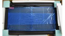 Design Specialties Brookfield Zero Clearance Fireplace Door in Rustic Black with Infinity Handles