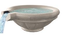Harbor Concrete Scupper Bowl shown in Oasis