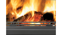 Removable log retainer for Oakdale EPI3 Series wood fireplace insert