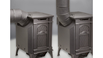 Ventilation pipes can be installed at a 45 degree angle