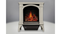 Bayfield Direct Vent Gas Stove in Winter Frost