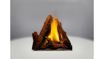 Phazer log set is included with the Castlemore Direct Vent Gas Stove