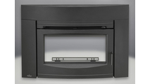 Oakdale EPI3 Series wood fireplace insert with Contemporary Surround