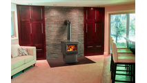 Suggested room setting for S-Series S9 Wood Stove
