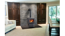 Suggested room setting for S-Series S4 Wood Stove
