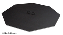 Octagon Fire Pit Cover Snuffer 36 Inch