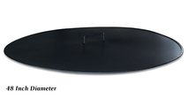 Round Fire Pit Cover Snuffer 48 Inch