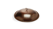 Round Copper Fire Pit Cover 32 Inch for Tempe Fire Bowls by HPC