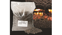 optional Lava Granules for a more realistic ember bed