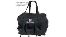 Carrying bag included with the Anywhere Portable Infrared Gas Grill!