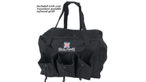 Carrying bag included with the Marine Anywhere Portable Infrared Gas Grill!