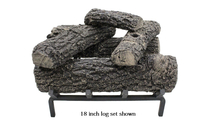 18 inch Classic Oak Gas Log Set