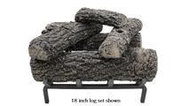 18 inch Classic Oak Gas Log Set