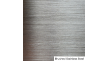 Brushed Stainless Steel Finish