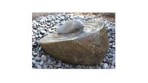 Granite Boulder Fish Upstream Fountain Kit