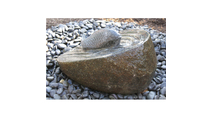 Granite Boulder Fish Upstream Fountain Kit