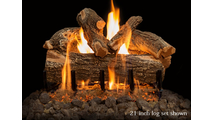 21 inch Arizona Weathered Oak Gas Log Set