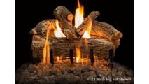 21 inch Arizona Weathered Oak Gas Log Set