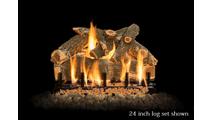 24 inch Arizona Weathered Oak Gas Log Set