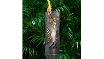 Hawi Style Stainless Steel Permanent Gas Tiki Torch
