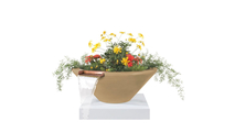 24 Inch Cadiz Planter and Water Bowl