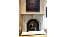 Customer installed coal burner - fire basket was purchased separately at customer's local fireplace store in the UK.