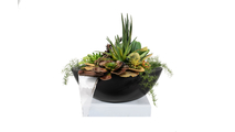27 Inch Sevilla Planter and Water Bowl