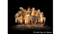 24 inch Quaking Aspen Gas Log Set